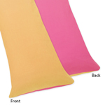 Pink and Orange Butterfly Full Length Double Zippered Body Pillow Case Cover by Sweet Jojo Designs