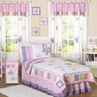 Pink and Purple Butterfly Children's Bedding- 3pc Full / Queen Set