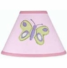 Pink and Purple Butterfly Lamp Shade by Sweet Jojo Designs