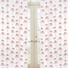Pink and Taupe Mod Elephant Window Treatment Panels by Sweet Jojo Designs - Set of 2