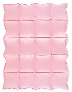 Pink Baby Crib Down Alternative Comforter / Blanket