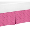 Pink Bandana Crib Bed Skirt for Cowgirl Baby Bedding Sets by Sweet Jojo Designs