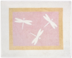 Pink Dragonfly Dreams Accent Floor Rug