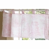 Pink French Toile Window Valance