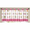 Pink Happy Owl Window Valance by Sweet Jojo Designs