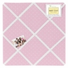 Pink Polka Dot Fabric Memory/Memo Photo Bulletin Board for Mod Dots Collection by Sweet Jojo Designs