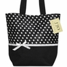 Polka Dot Handbag (Great for Diaper Bag, Tote Bag, Purse or Beach Bag)