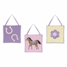 Pretty Pony Horse Wall Hanging Accessories by Sweet Jojo Designs