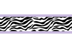 Purple Funky Zebra Baby, Kids and Teens Wall Paper Border by Sweet Jojo Designs