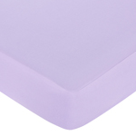Purple Funky Zebra Fitted Crib Sheet - Purple