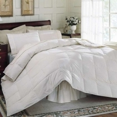 Queen White Feather Down Comforter