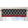 Red and Black Trellis�Collection Window Valance by Sweet Jojo Designs