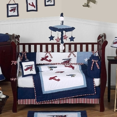 Airplane Baby Bedding For Boys And Girls