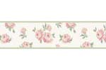 Riley's Roses Kids and Teens Wall Paper Border by Sweet Jojo Designs