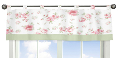 Riley's Roses Window Valance