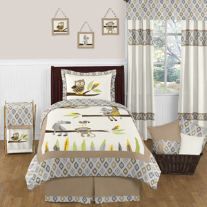 Safari Outback Jungle 4pc Twin Bedding Set by Sweet Jojo ...