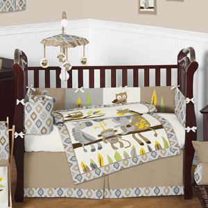 Safari Outback Jungle Baby Bedding - 9pc Crib Set by Swee...