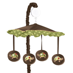 Sea Turtle Musical Baby Crib Mobile by Sweet Jojo Designs