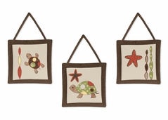 Sea Turtle Wall Hanging Accessories by Sweet Jojo Designs