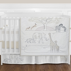 Serengeti Animal Baby Bedding - 9pc Boys Girls Unisex Crib Set by Sweet Jojo Designs