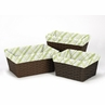 Set of 3 One Size Fits Most Basket Liners for Leap Frog Bedding Sets