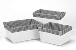 JoJo Designs Set of 3 One Size Fits Most Basket Liners fo...