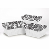 Set of 3 One Size Fits Most Basket Liners for Sophia Bedding Sets by Sweet Jojo Designs