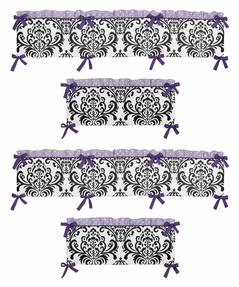 Sloane Collection Crib Bumper by Sweet Jojo Designs