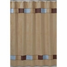 Soho Blue and Brown Kids Bathroom Fabric Bath Shower Curtain