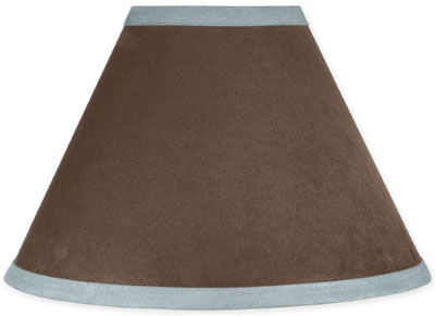 Blue And Brown Lamp Shades: Blue Chocolate Lamp Shade Foter,Lighting