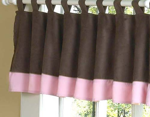 Curtains Ideas chocolate brown tab top curtains : Soho Pink and Brown Baby Bedding Set - Sweet JoJo Designs only $189.99