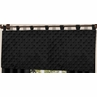 Solid Black Minky Dot�Window Valance by Sweet Jojo Designs