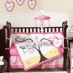 Song Bird Baby Bedding - 9pc Crib Set by Sweet Jojo Designs