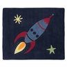 Space Galaxy Accent Floor Rug by Sweet Jojo Designs