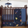 Space Galaxy Baby Bedding - 4pc Crib Set by Sweet Jojo Designs