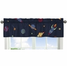 Space Galaxy�Collection Window Valance by Sweet Jojo Designs