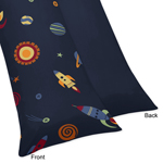JoJo Designs Space Galaxy Galactic Full Length Double Zip...