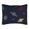 Space Galaxy Pillow Sham by Sweet Jojo Designs