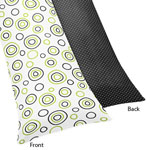 Spirodot Lime and Black Full Length Double Zippered Body Pillow Case Cover by Sweet Jojo Designs