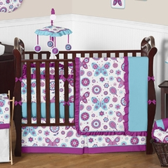 Spring Garden Baby Bedding - 9pc Crib Set by Sweet Jojo Designs