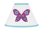 Spring Garden Lamp Shade by Sweet Jojo Designs