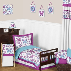Spring Garden Toddler Bedding - 5pc Set by Sweet Jojo Designs
