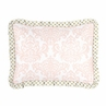 Standard Pillow Sham for Blush Pink, Gold and White Amelia Bedding by Sweet Jojo Designs