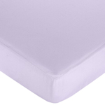 Sweet Kayla Fitted Crib Sheet for Baby and Toddler Bedding Sets by Sweet Jojo Designs - Solid Purple