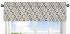 Safari Outback Jungle Collection Ikat Window Valance by S...