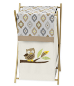 JoJo Designs Baby/Kids Clothes Laundry Hamper for Safari ...