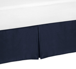 JoJo Designs Toddler Bed Skirt for Space Galaxy Kids Chil...