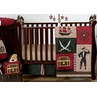 Treasure Cove Pirate Baby Bedding - 11pc Crib Set