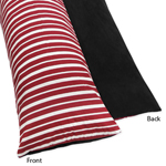 Treasure Cove Pirate Full Length Double Zippered Body Pillow Case Cover by Sweet Jojo Designs