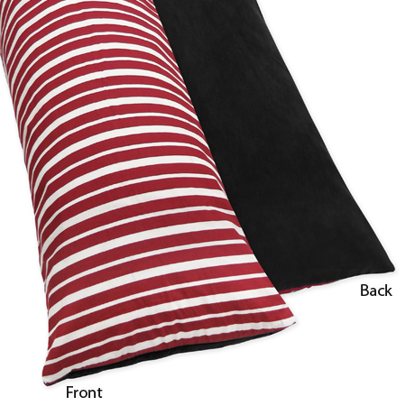 Treasure Cove Pirate Full Length Double Zippered Body Pillow Case Cover by Sweet Jojo Designs - Click to enlarge